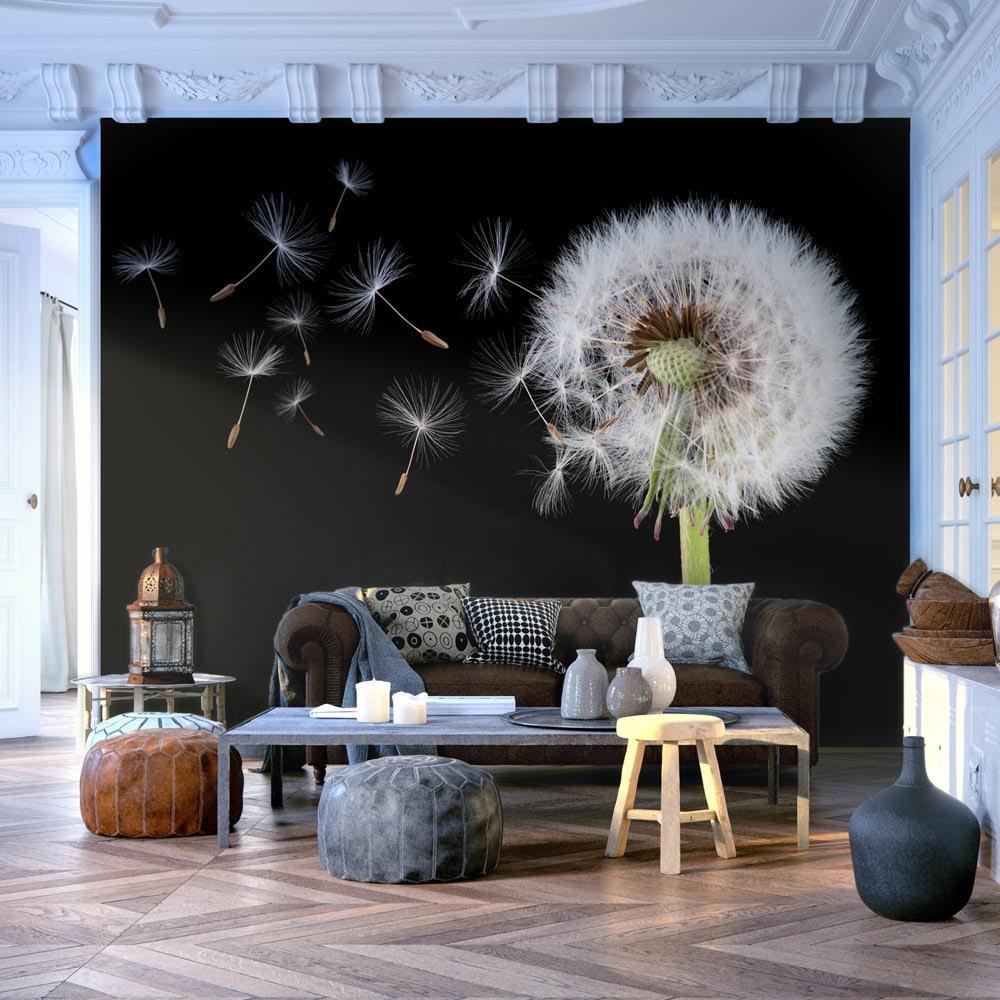 Artgeist Fototapete - Wind und Pusteblume