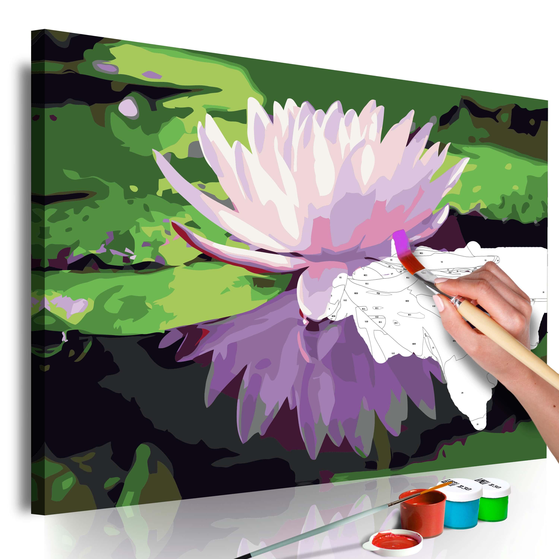 Artgeist Malen nach Zahlen - Wasserlilie