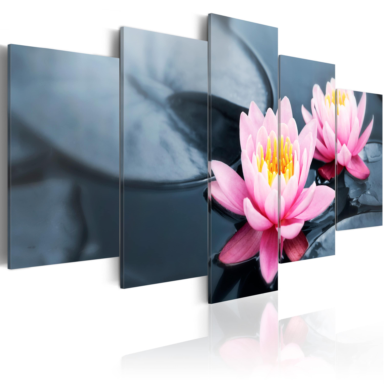 Artgeist Wandbild - Ein Traum von der Wasserlilie