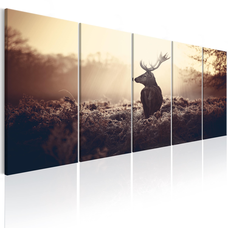 Artgeist Wandbild - Stag in the Wilderness