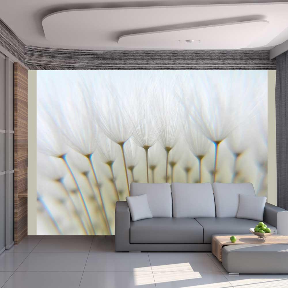 Artgeist Fototapete - Ein Wald aus Pusteblumen