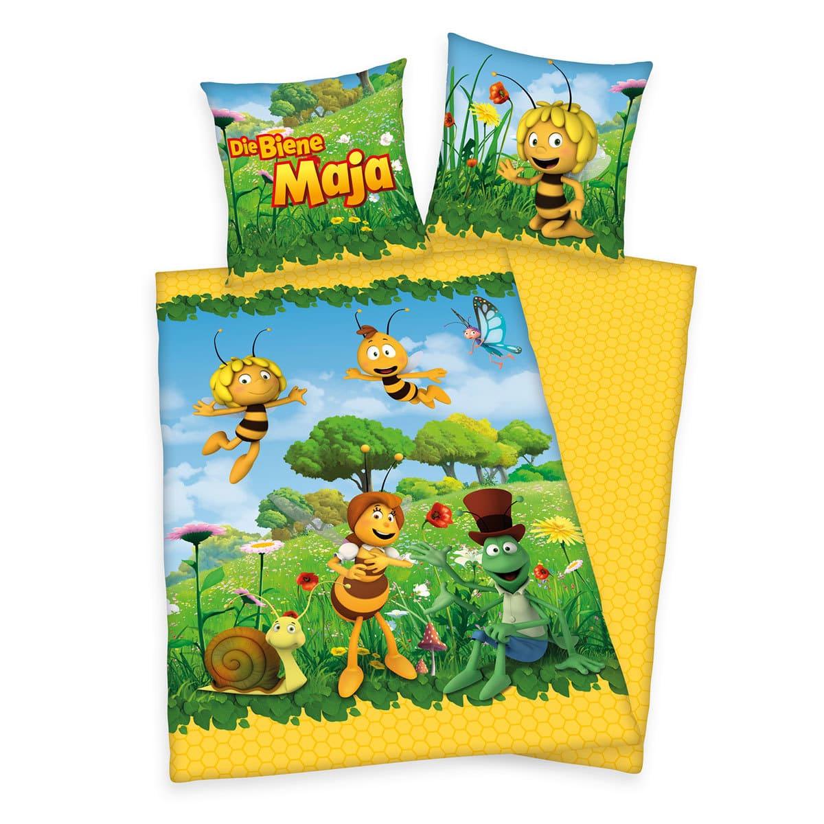 Herding Bettwäsche Biene Maja Blütenwiese