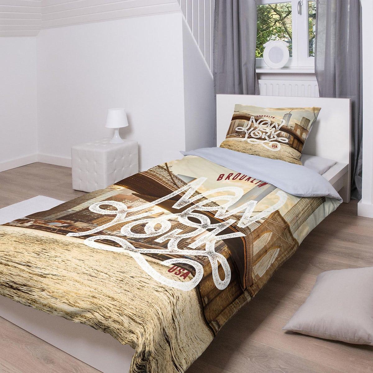 traumschlaf bettw sche brooklyn bridge g nstig online kaufen bei bettwaren shop. Black Bedroom Furniture Sets. Home Design Ideas