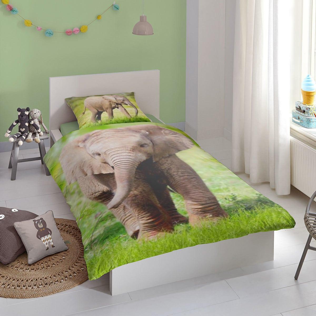 Good Morning Bettwäsche Elephant multi