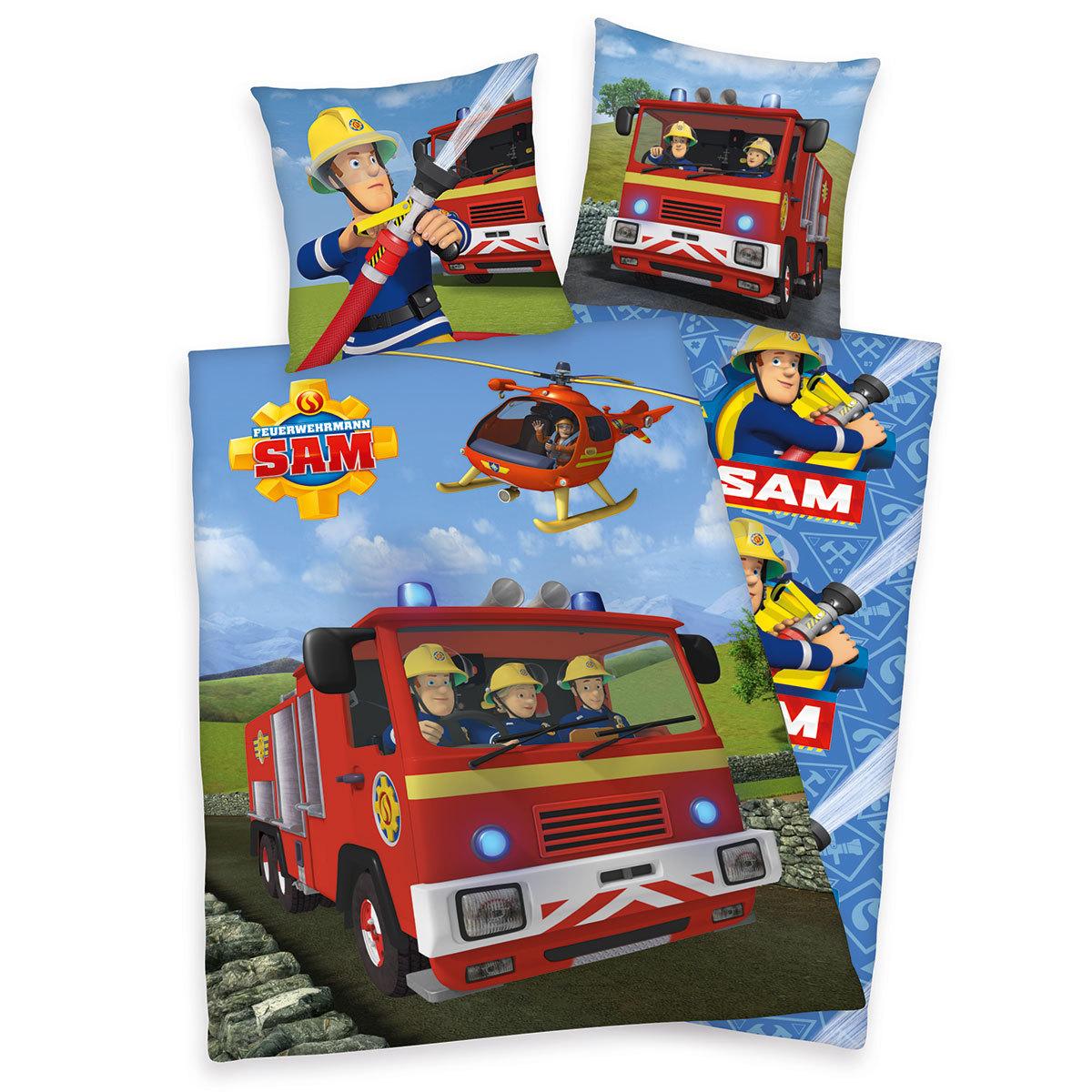 Herding Bettwäsche Feuerwehrmann Sam