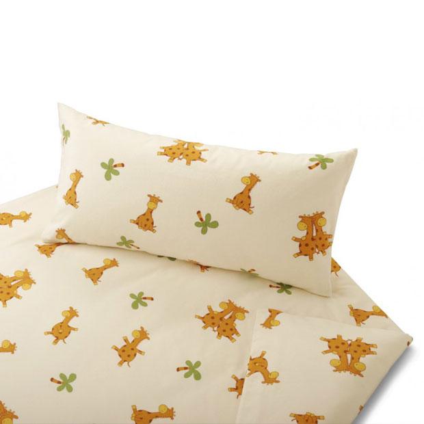 c5bb6725ff1643 Cotonea Bettwäsche Giraffe aus Bio-Baumwolle günstig online kaufen ...
