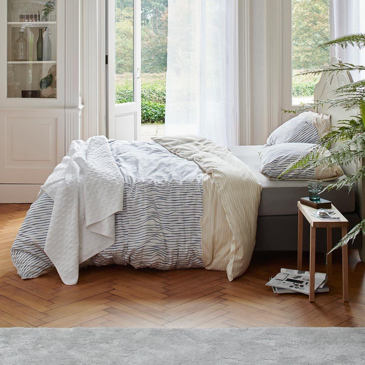Esprit Bettwäsche Linar Blau Günstig Online Kaufen Bei Bettwaren Shop