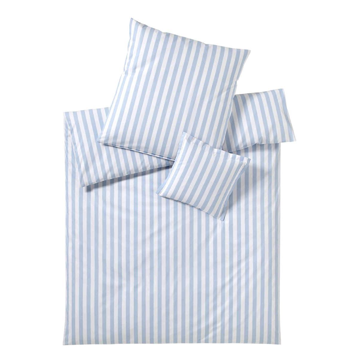 elegante bettw sche linea lido hellblau g nstig online kaufen bei bettwaren shop. Black Bedroom Furniture Sets. Home Design Ideas