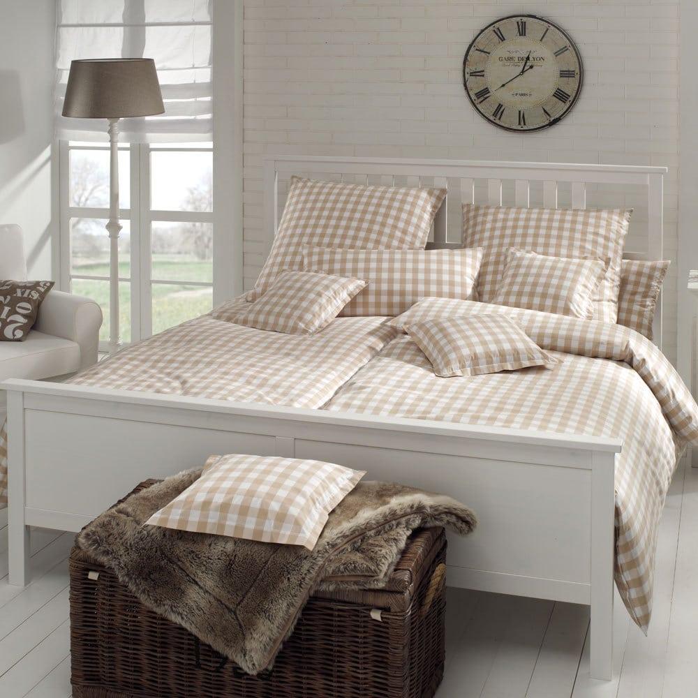 elegante bettw sche linea quadro sand g nstig online kaufen bei bettwaren shop. Black Bedroom Furniture Sets. Home Design Ideas