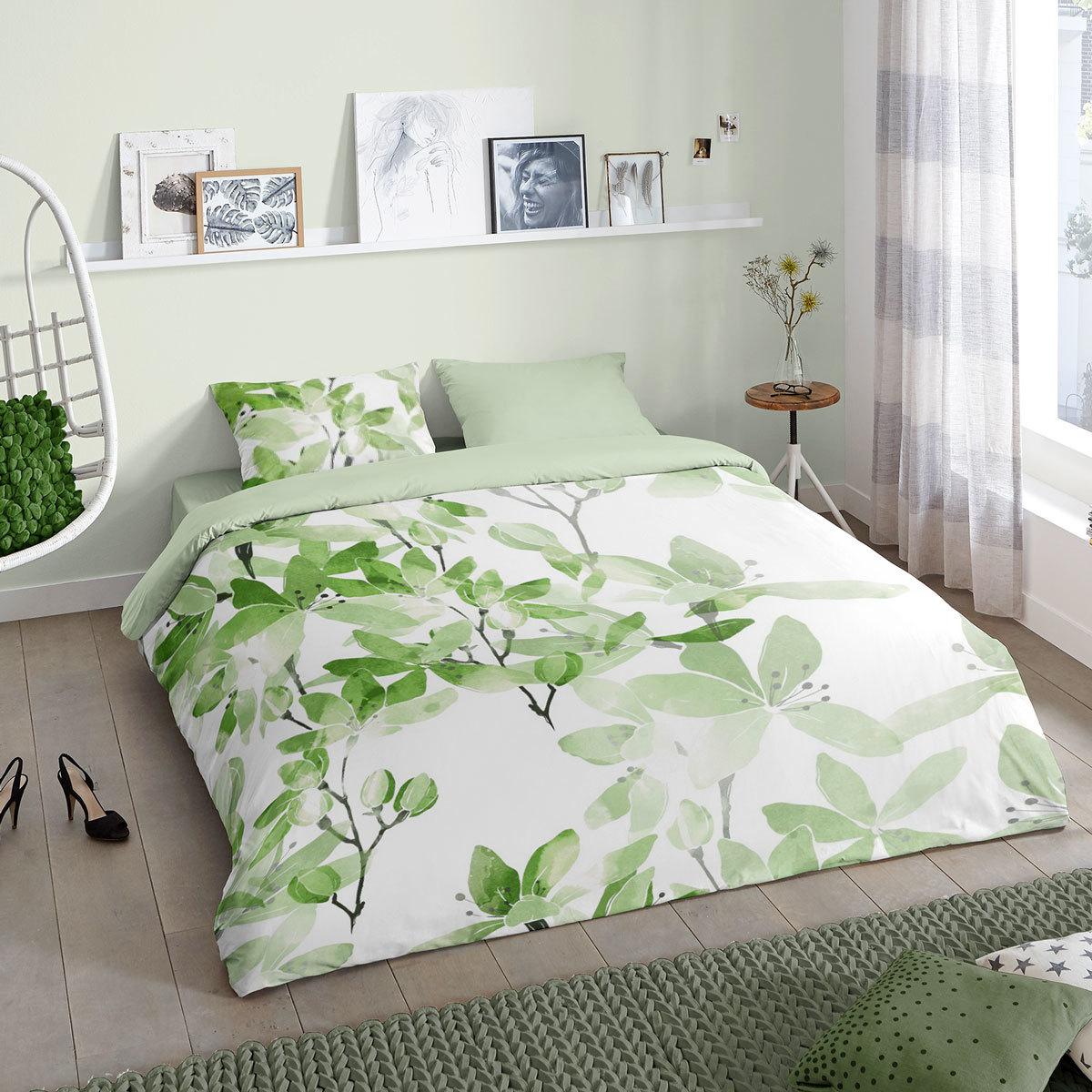 Good Morning Bettwäsche Liysa grün