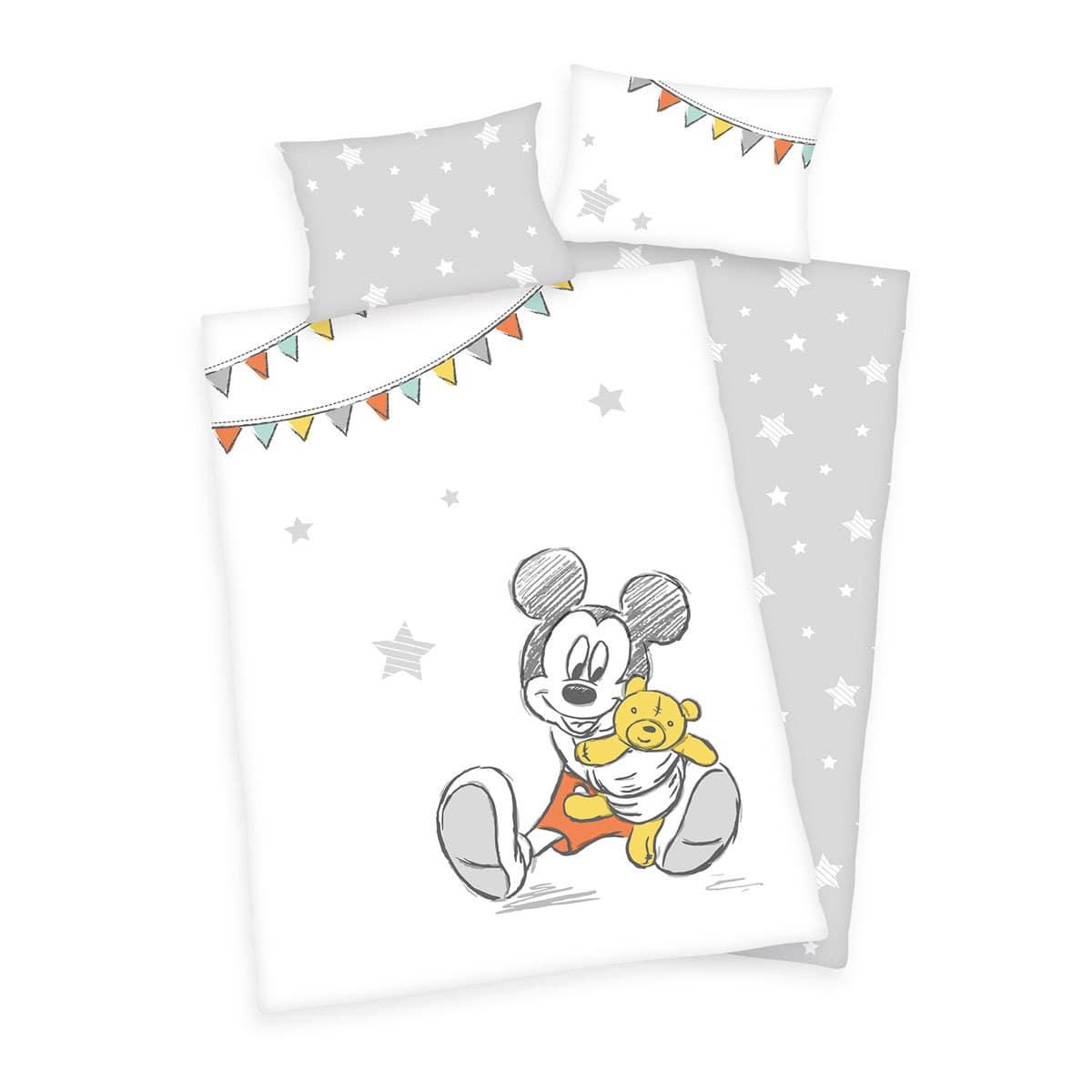 Herding Bettwäsche Mickey Mouse Günstig Online Kaufen Bei Bettwaren Shop