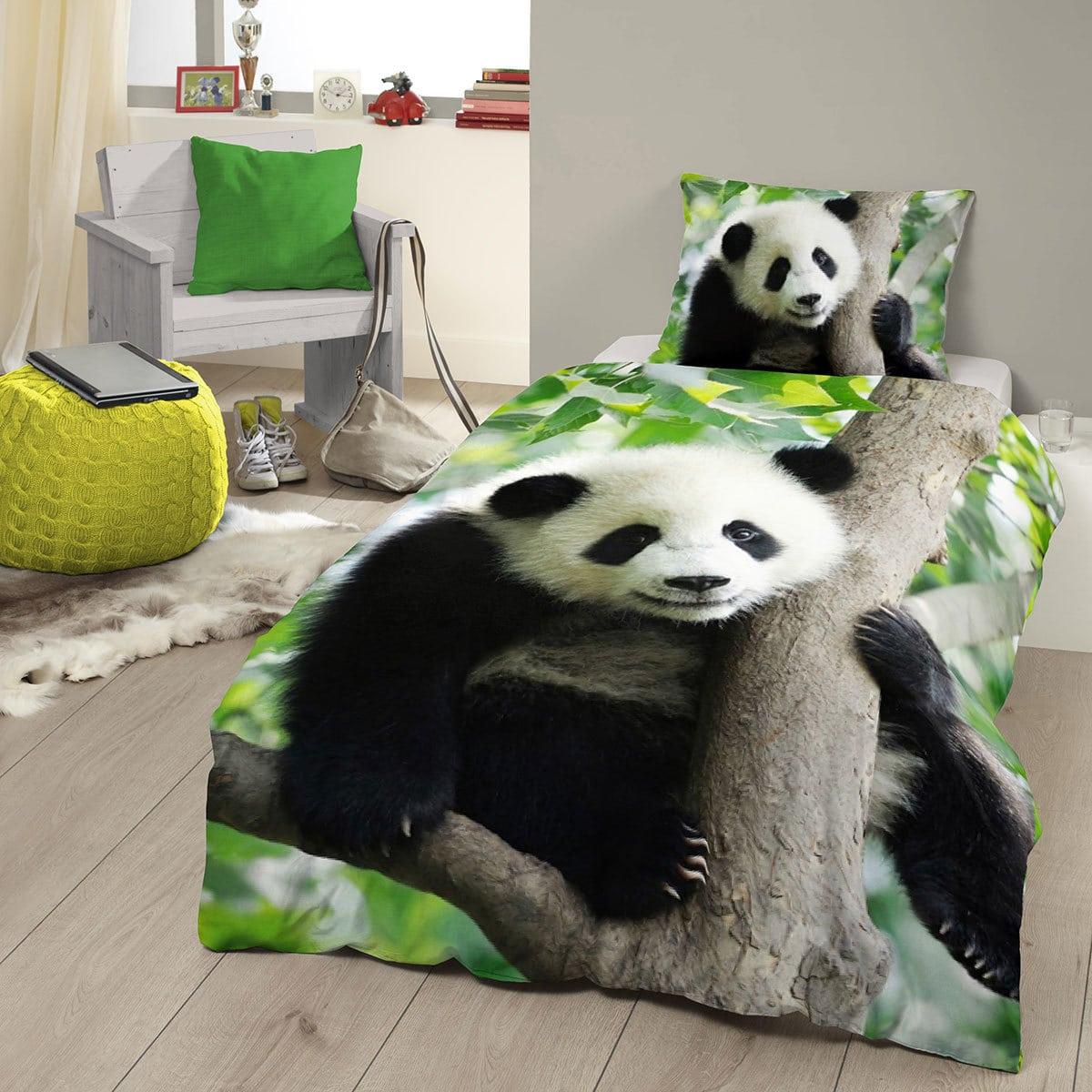 Good Morning Bettwäsche Panda