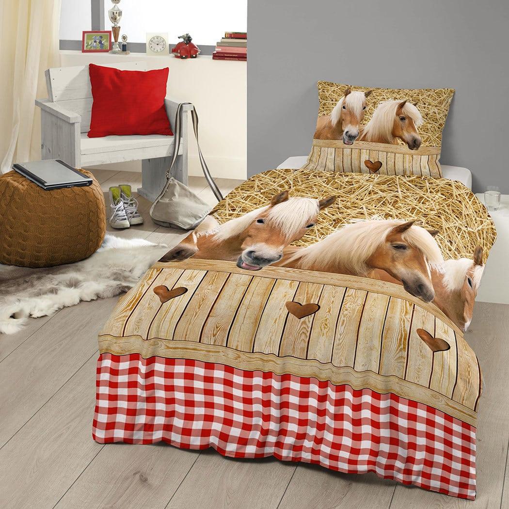 bettw sche pferde preisvergleich die besten angebote online kaufen. Black Bedroom Furniture Sets. Home Design Ideas