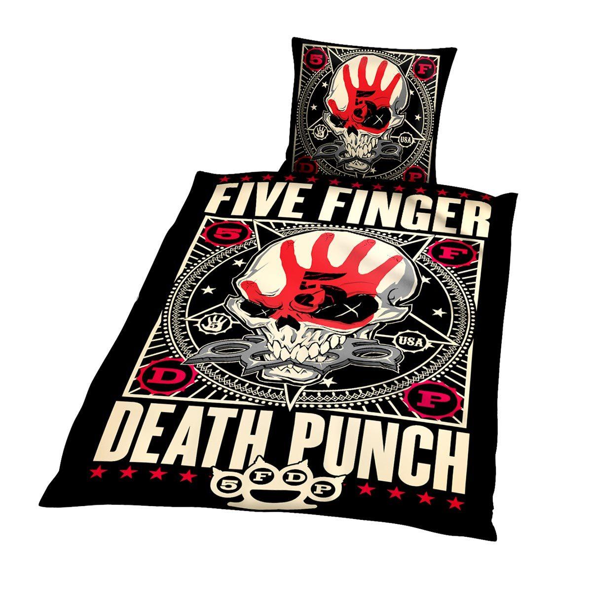 Five Finger Death Punch Bettwäsche Punchagram