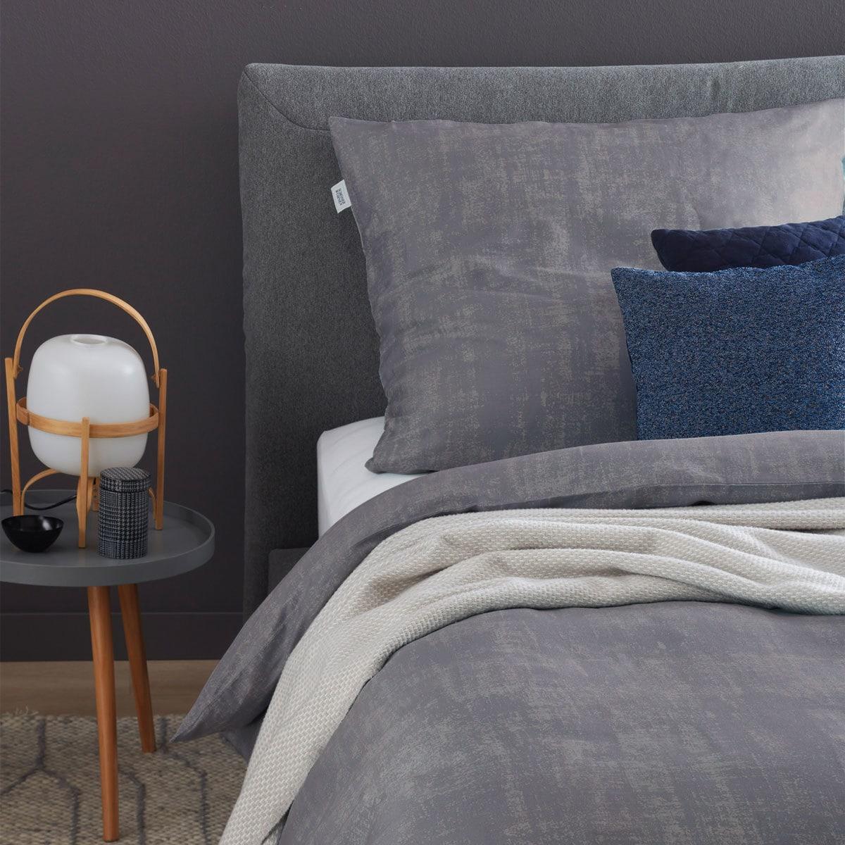 Schöner Wohnen Bettwäsche Shaby grau günstig online kaufen bei ...