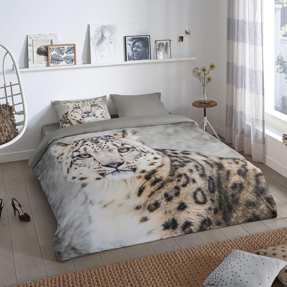 Good Morning Bettwäsche Snow Leopard Günstig Online Kaufen Bei