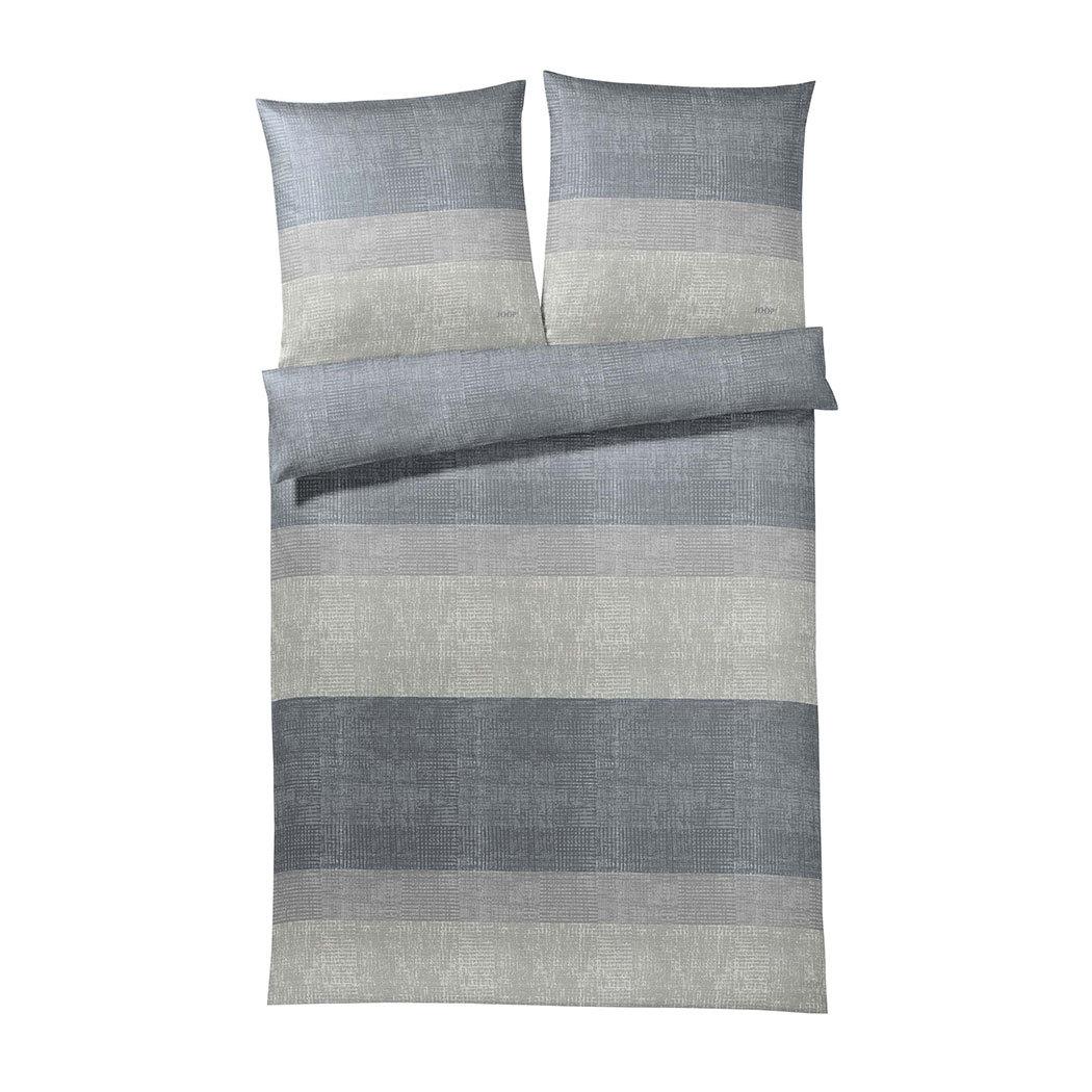 joop bettw sche sparkling stripes stone g nstig online. Black Bedroom Furniture Sets. Home Design Ideas