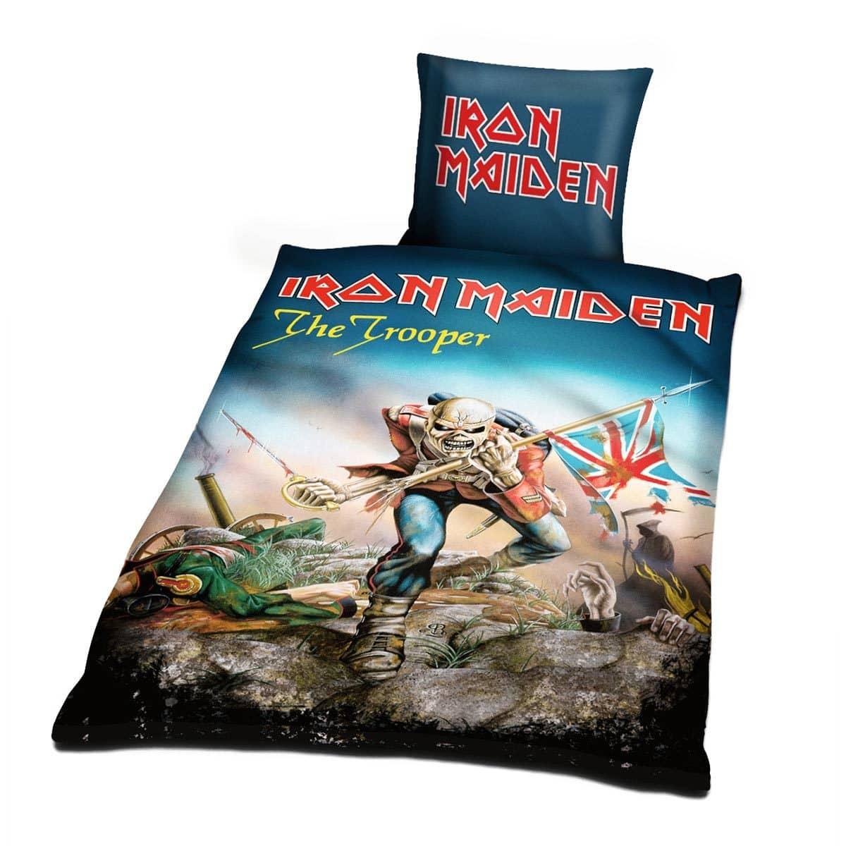 Iron Maiden Bettwäsche Trooper