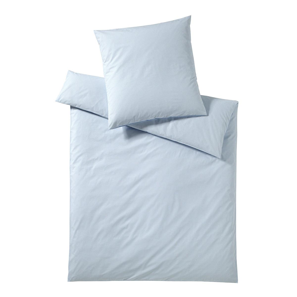 elegante bettw sche vichy hellblau g nstig online kaufen bei bettwaren shop. Black Bedroom Furniture Sets. Home Design Ideas