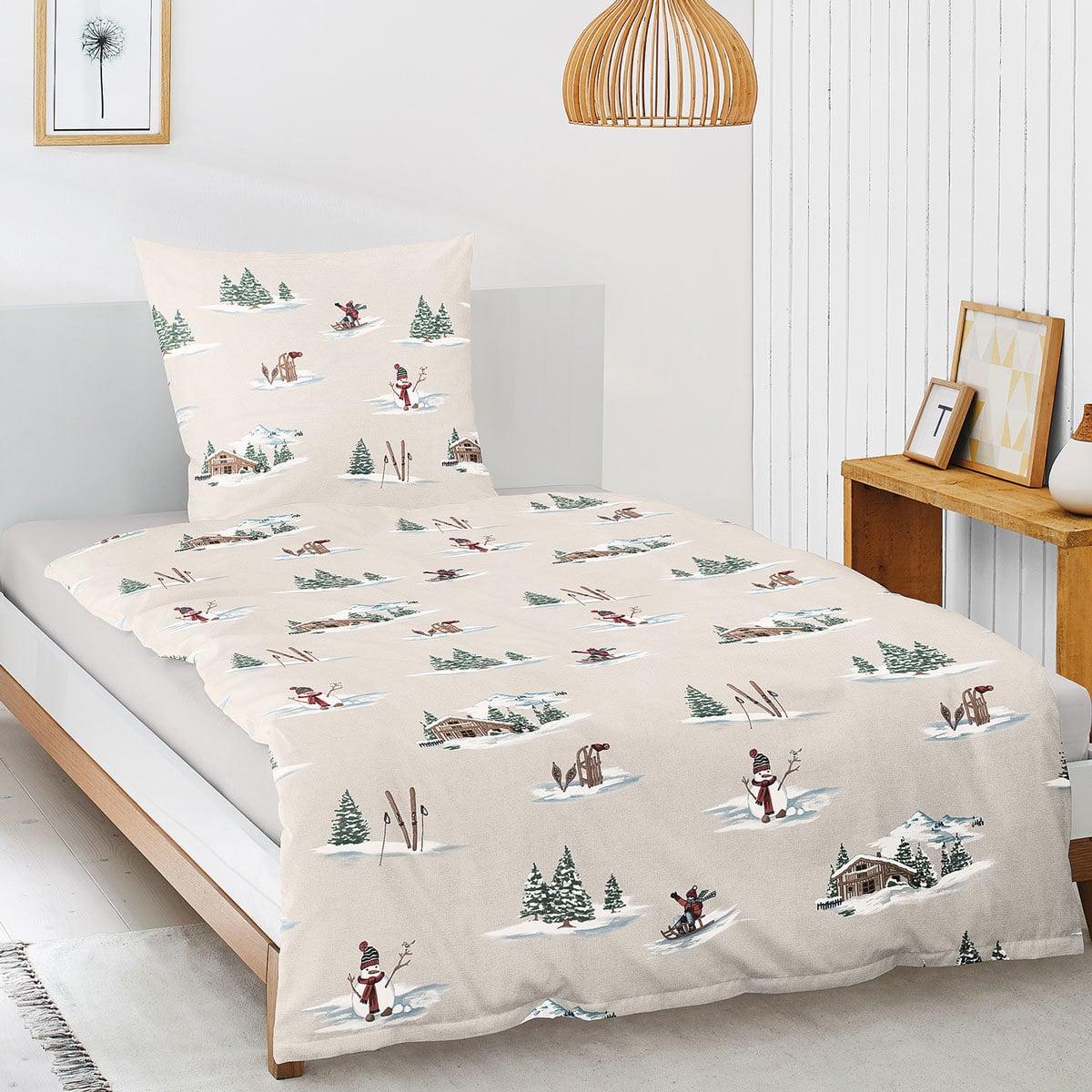 irisette biber bettw sche davos 8006 80 g nstig online kaufen bei bettwaren shop. Black Bedroom Furniture Sets. Home Design Ideas