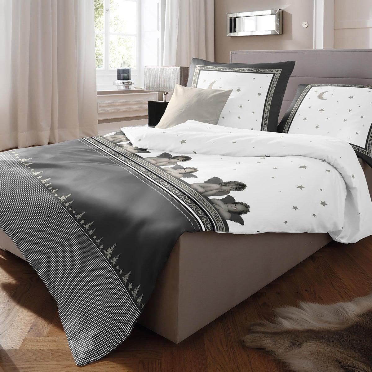 fleuresse biber bettw sche davos engel g nstig online kaufen bei bettwaren shop. Black Bedroom Furniture Sets. Home Design Ideas