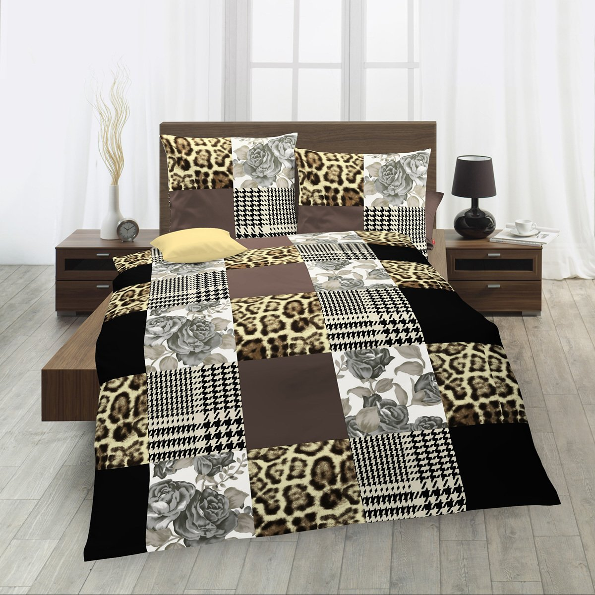 fleuresse biber bettw sche davos leo g nstig online kaufen bei bettwaren shop. Black Bedroom Furniture Sets. Home Design Ideas