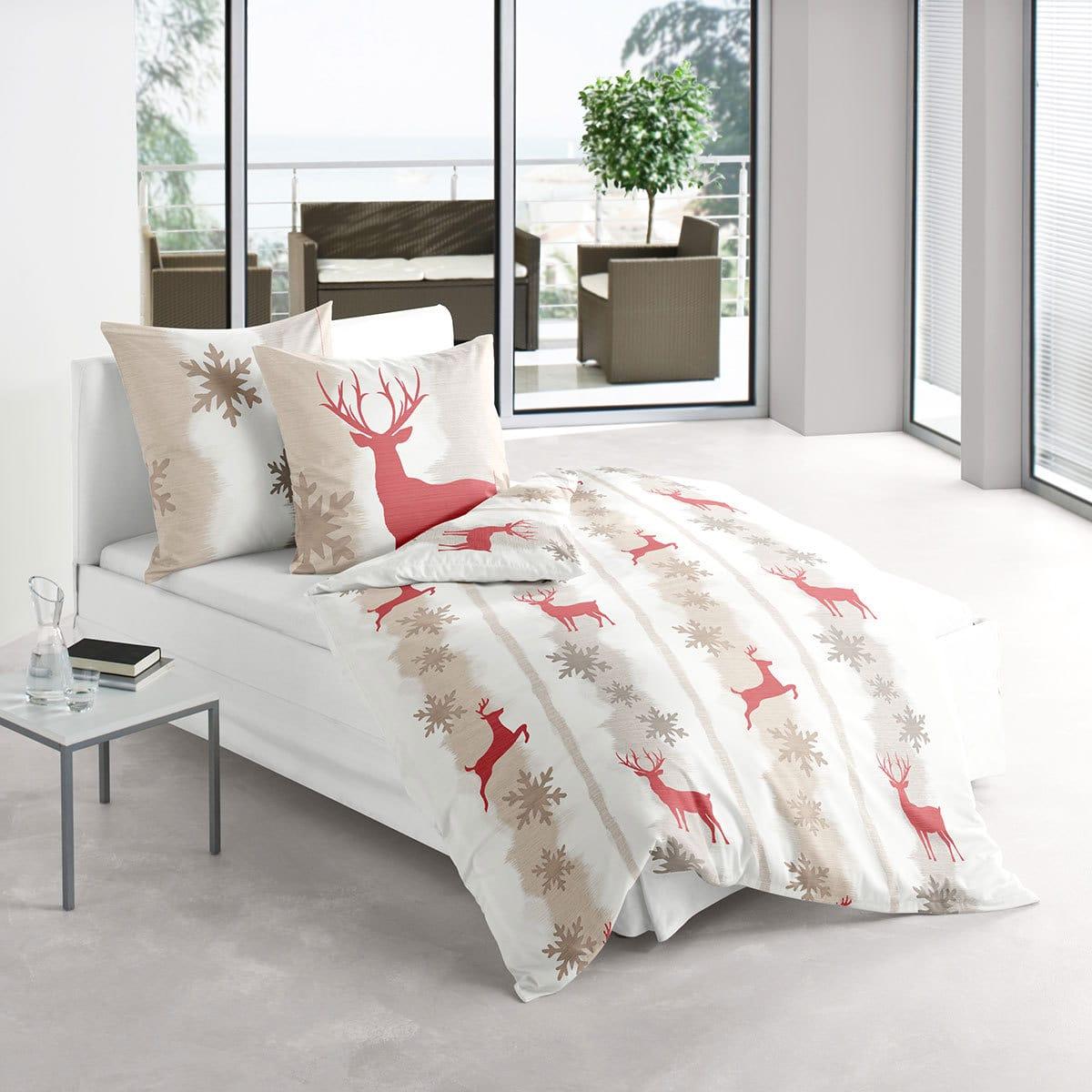 irisette biber bettw sche dublin 8681 80 g nstig online kaufen bei bettwaren shop. Black Bedroom Furniture Sets. Home Design Ideas