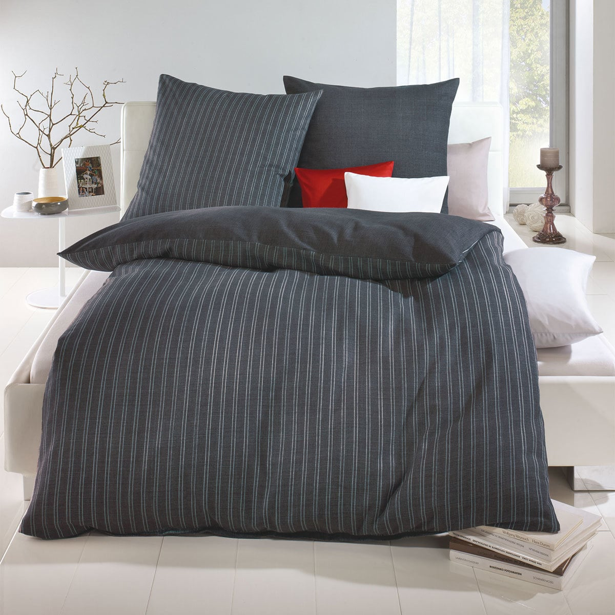 bettwarenshop biber bettw sche eternity combo zinn g nstig online kaufen bei bettwaren shop. Black Bedroom Furniture Sets. Home Design Ideas