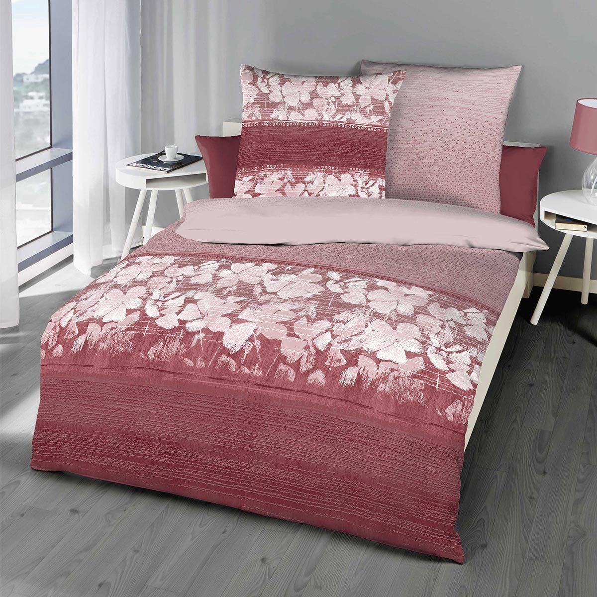 kaeppel biber bettw sche promise rubin g nstig online kaufen bei bettwaren shop. Black Bedroom Furniture Sets. Home Design Ideas