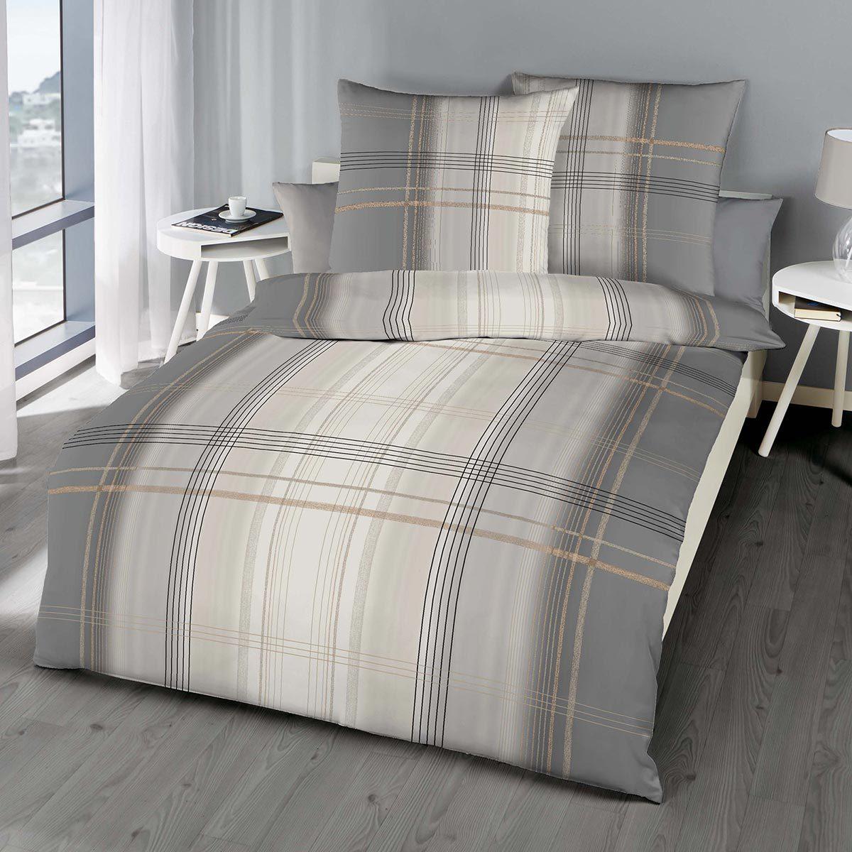 Kaeppel Biber Bettwäsche Tissue Grau Günstig Online Kaufen Bei