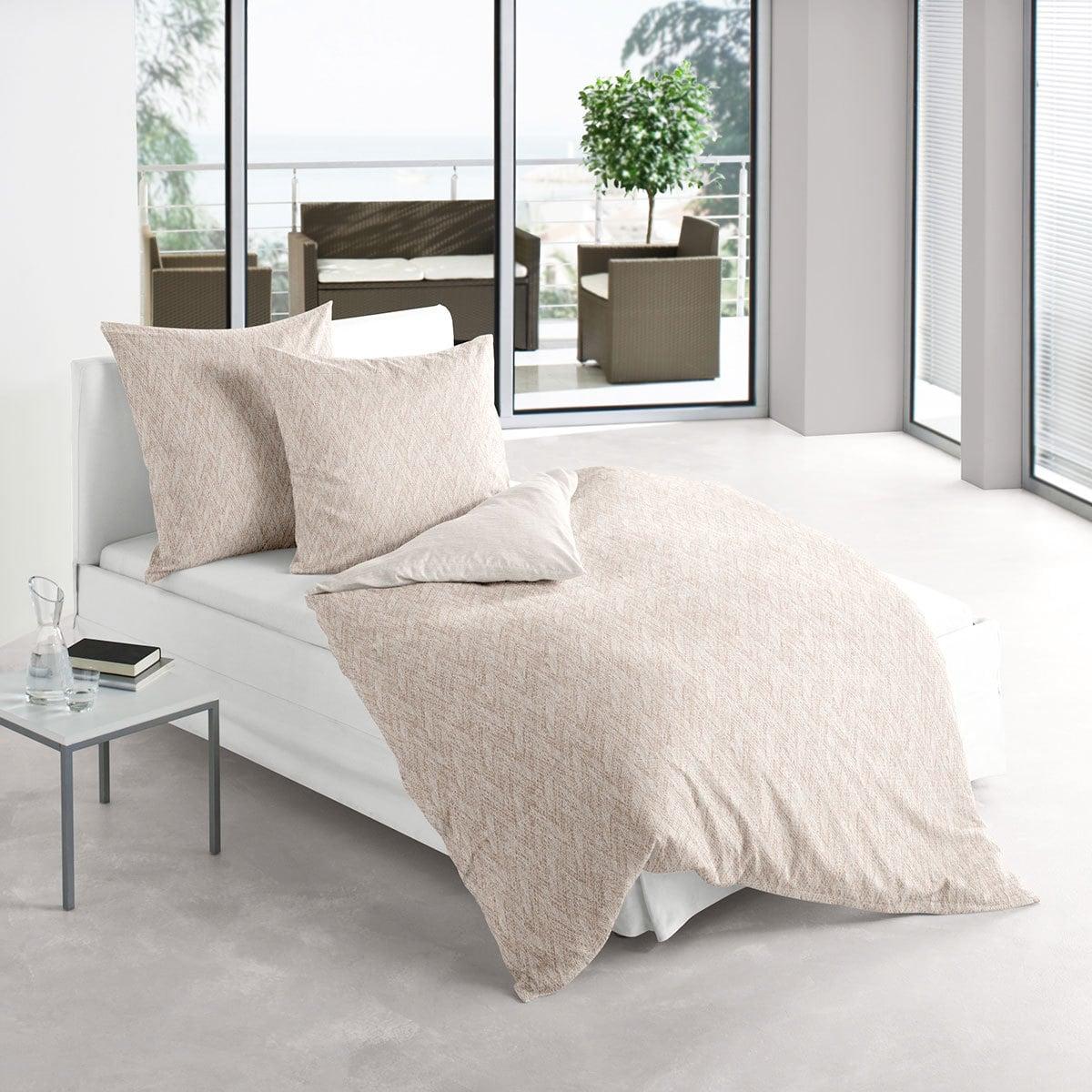 irisette biber wendebettw sche davos 8637 80 g nstig. Black Bedroom Furniture Sets. Home Design Ideas