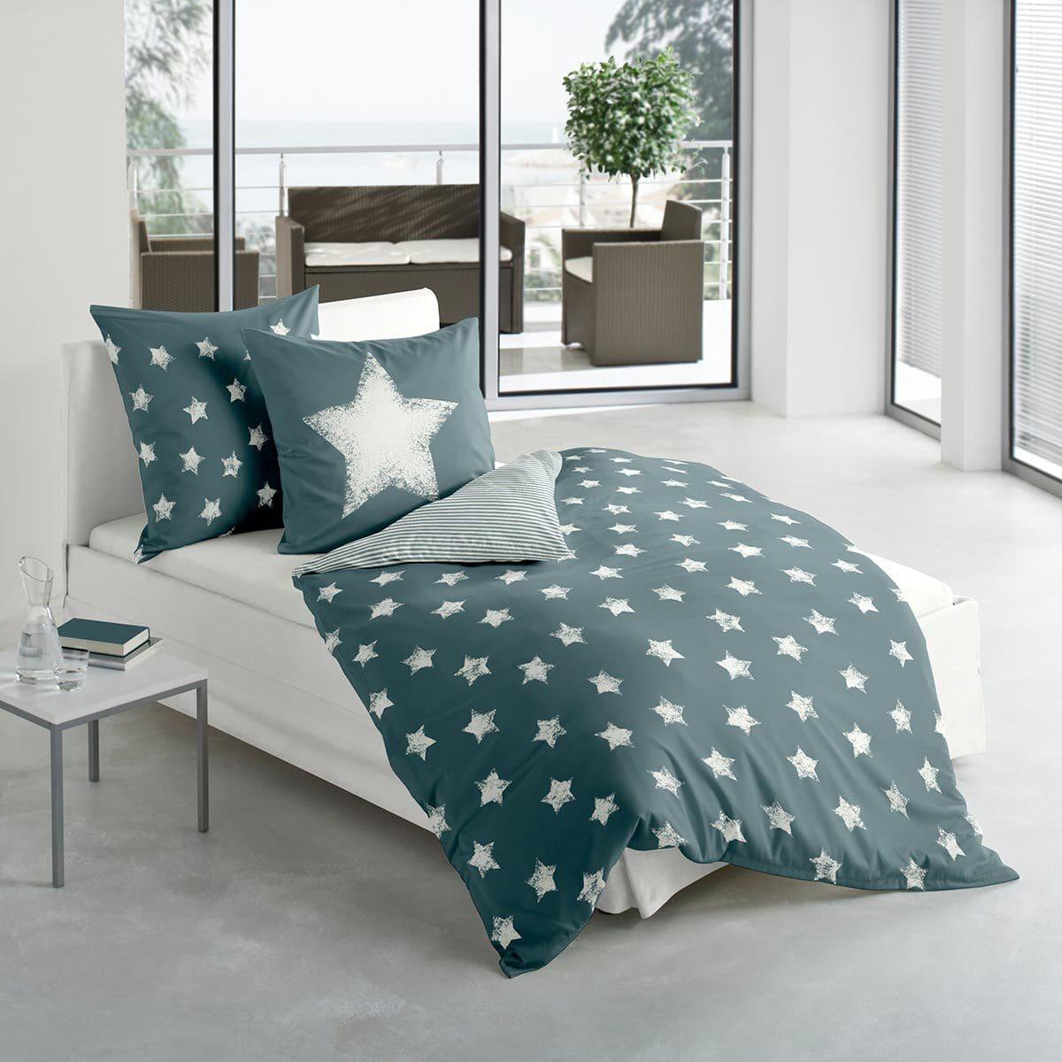 bierbaum biber wendebettw sche sterne ozean g nstig online. Black Bedroom Furniture Sets. Home Design Ideas