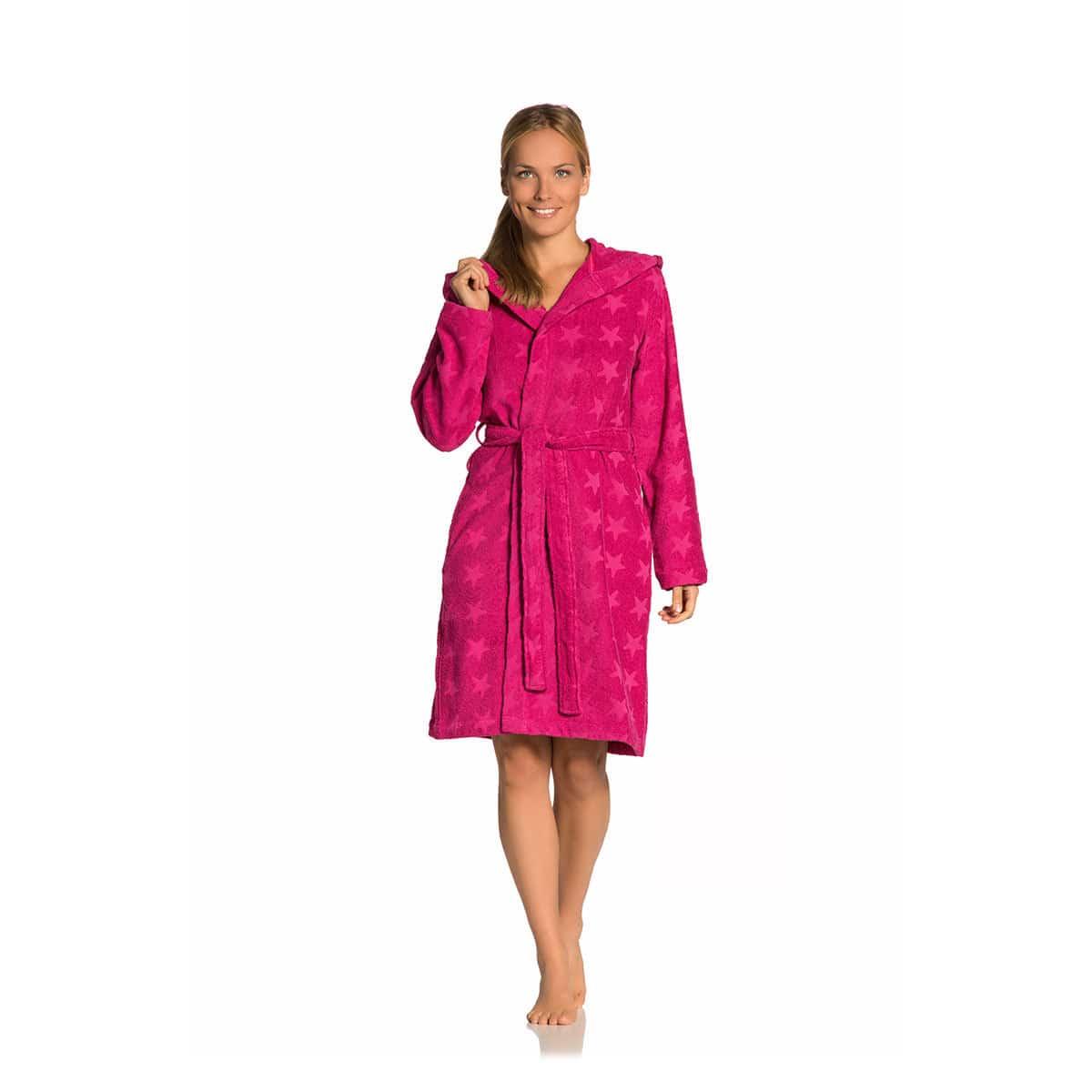 aecf18f50b074f Vossen Damen Bademantel Sally günstig online kaufen bei Bettwaren Shop