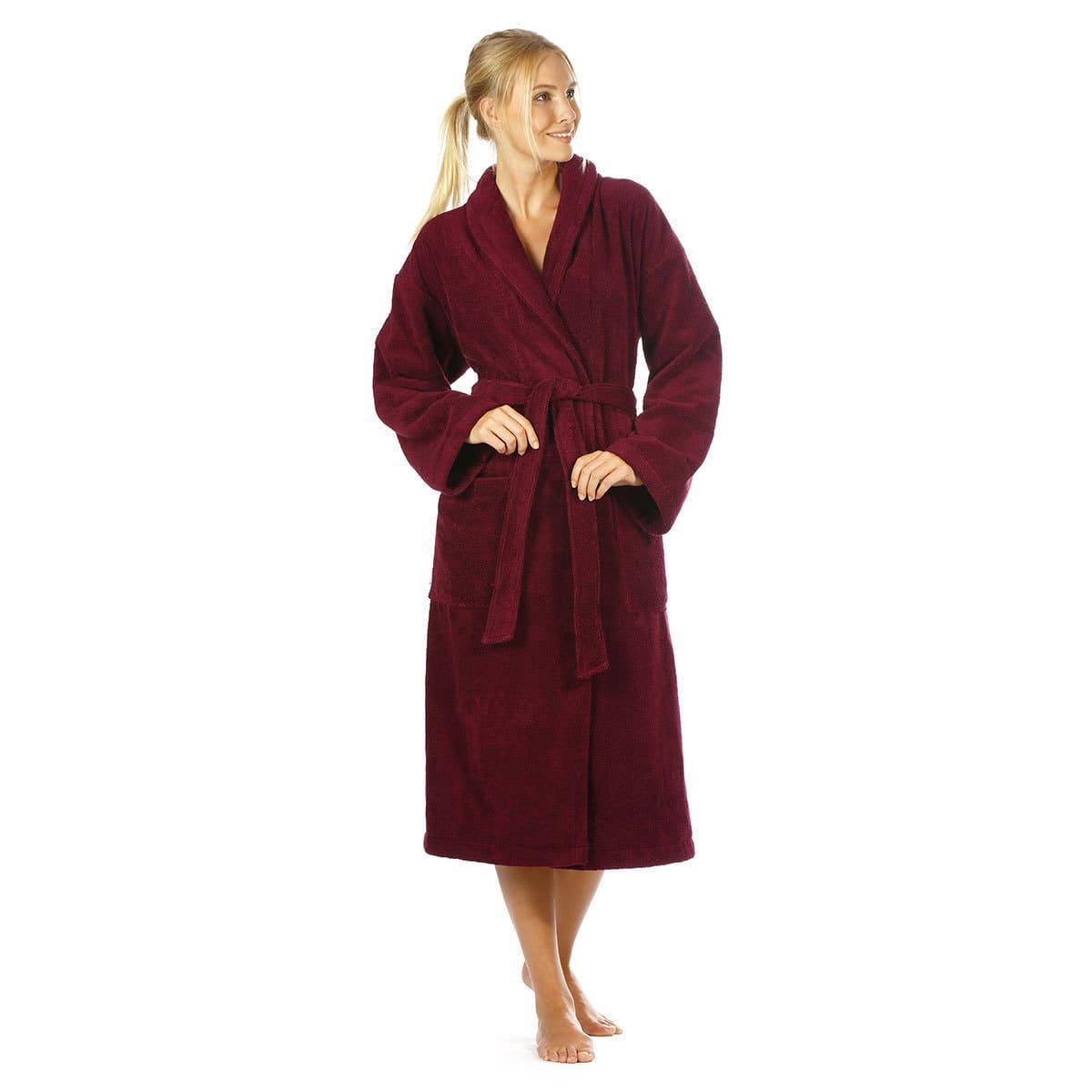 Egeria Damen Kimono Mika oxblood red