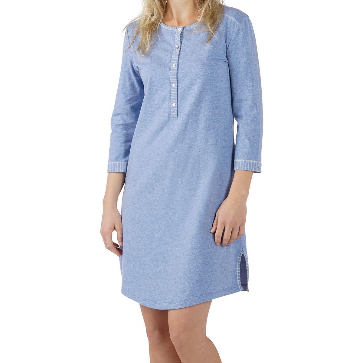 7a07f83e1183eb Comazo Earth Damen Nachthemd jeans günstig online kaufen bei ...