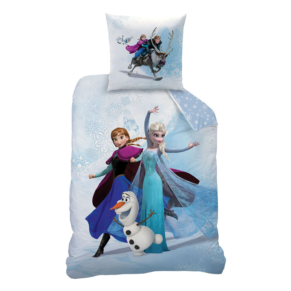 cti disney baumwolle kinderbettw sche frozen enjoy g nstig online kaufen bei bettwaren shop. Black Bedroom Furniture Sets. Home Design Ideas