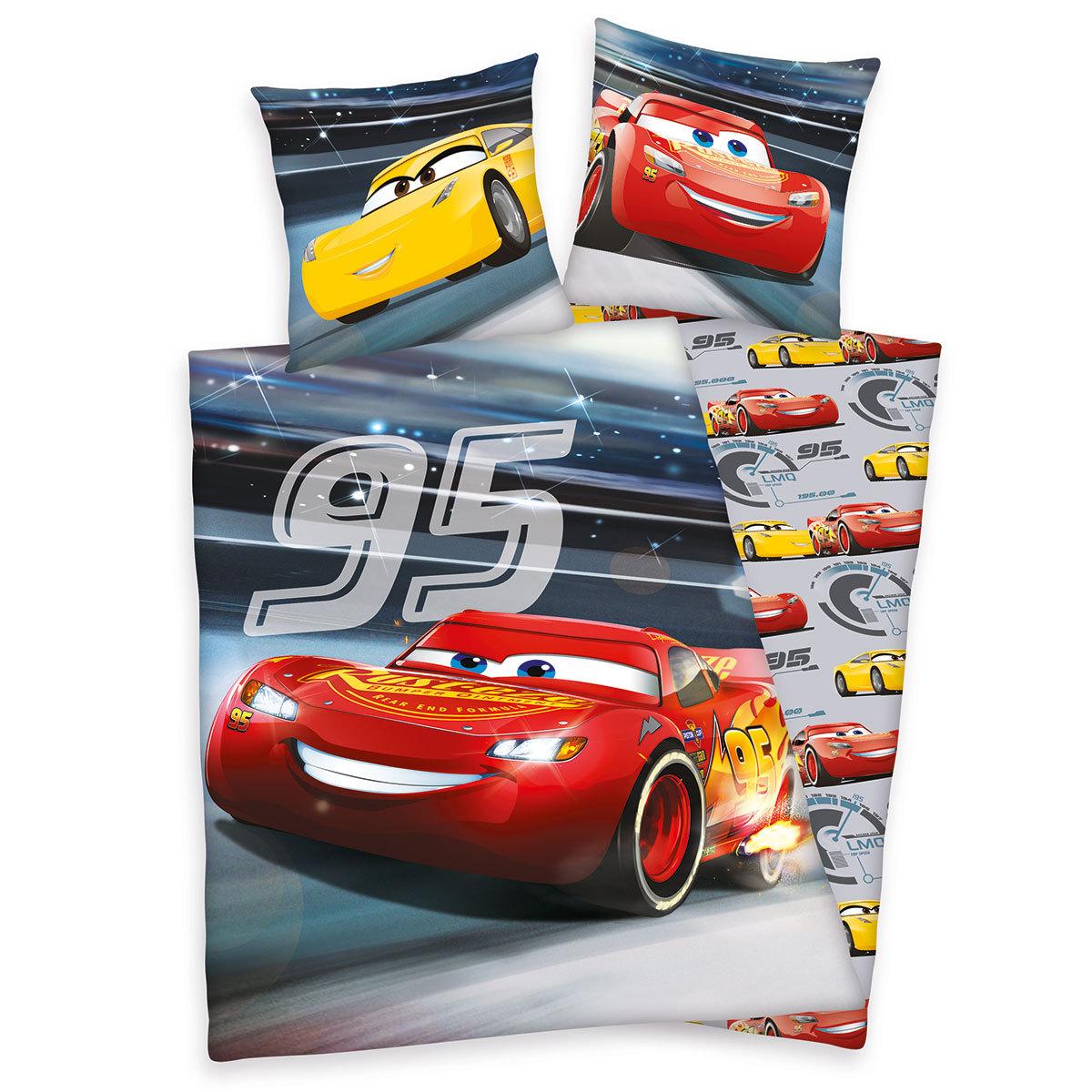 Herding Disney`s Bettwäsche Cars 3