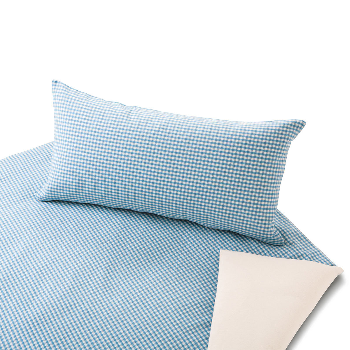 cotonea edel biber wendebettw sche vichy t rkis g nstig online kaufen bei bettwaren shop. Black Bedroom Furniture Sets. Home Design Ideas