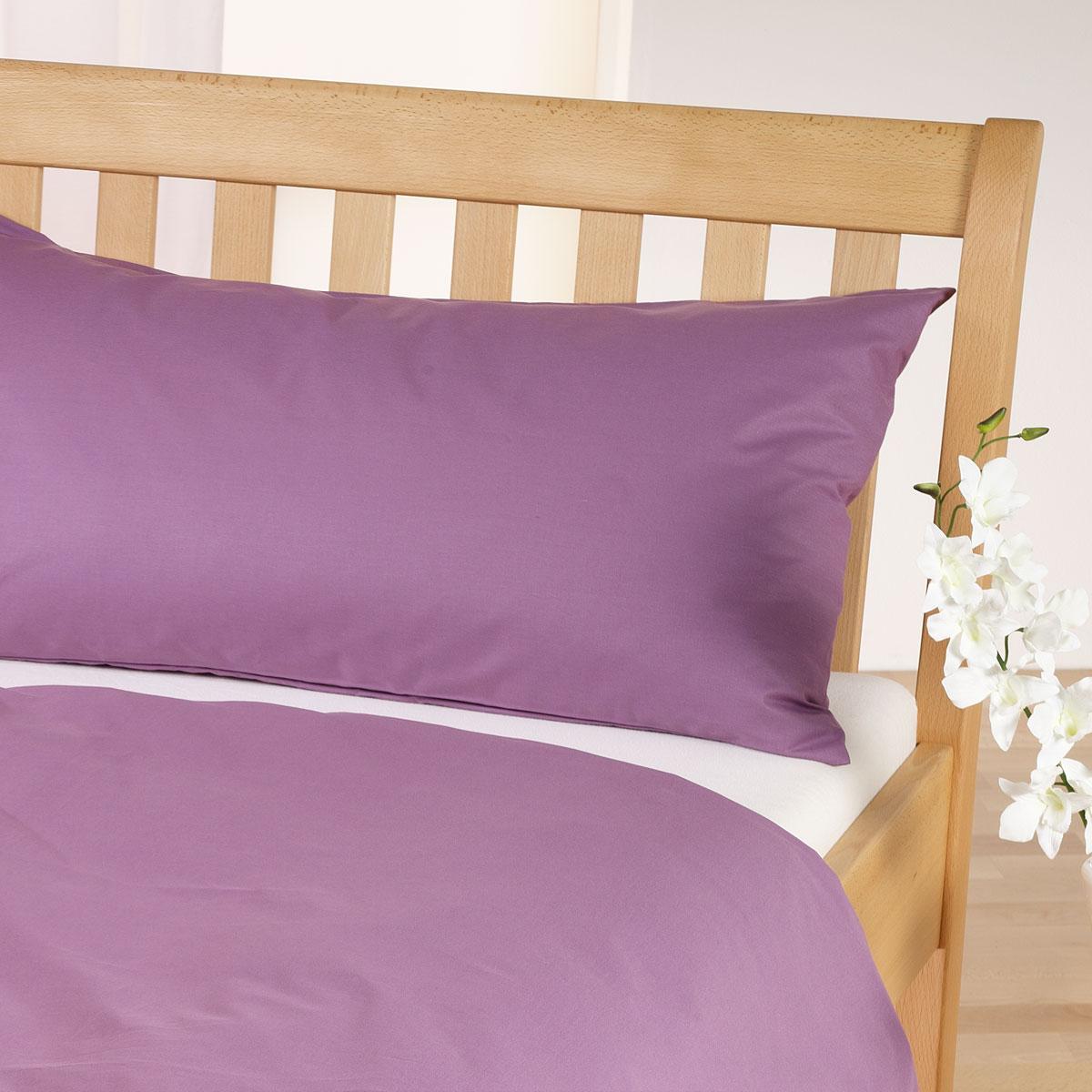 cotonea edel linonbettw sche uni flieder g nstig online kaufen bei bettwaren shop. Black Bedroom Furniture Sets. Home Design Ideas