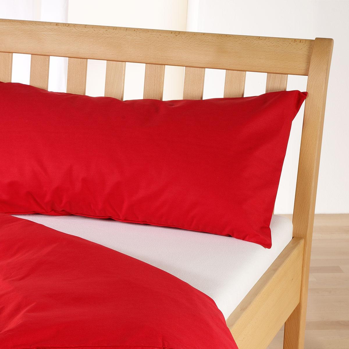 cotonea edel linonbettw sche uni rot g nstig online kaufen bei bettwaren shop. Black Bedroom Furniture Sets. Home Design Ideas