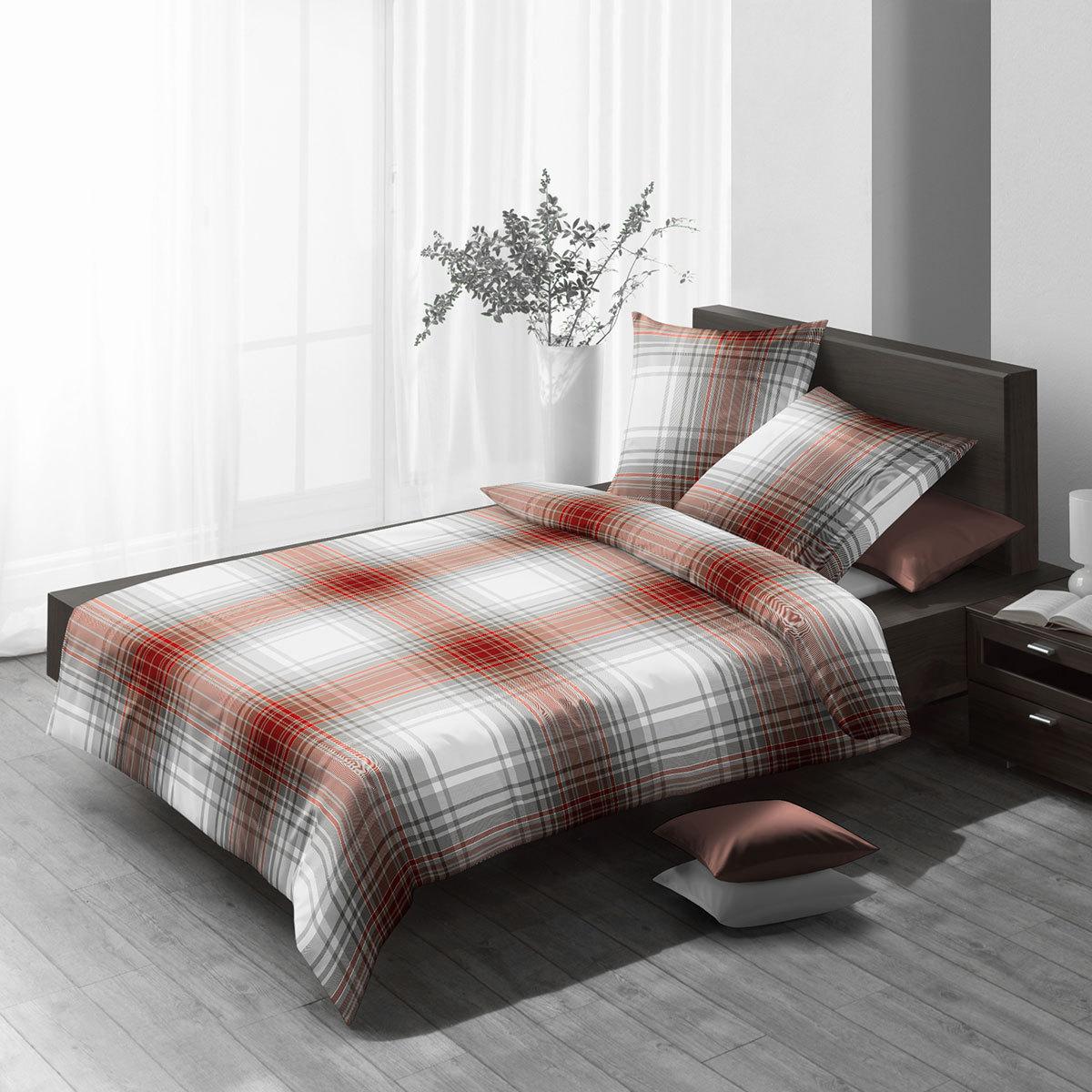 fleuresse edelflanell bettw sche 602949 24 burgund g nstig online kaufen bei bettwaren shop. Black Bedroom Furniture Sets. Home Design Ideas