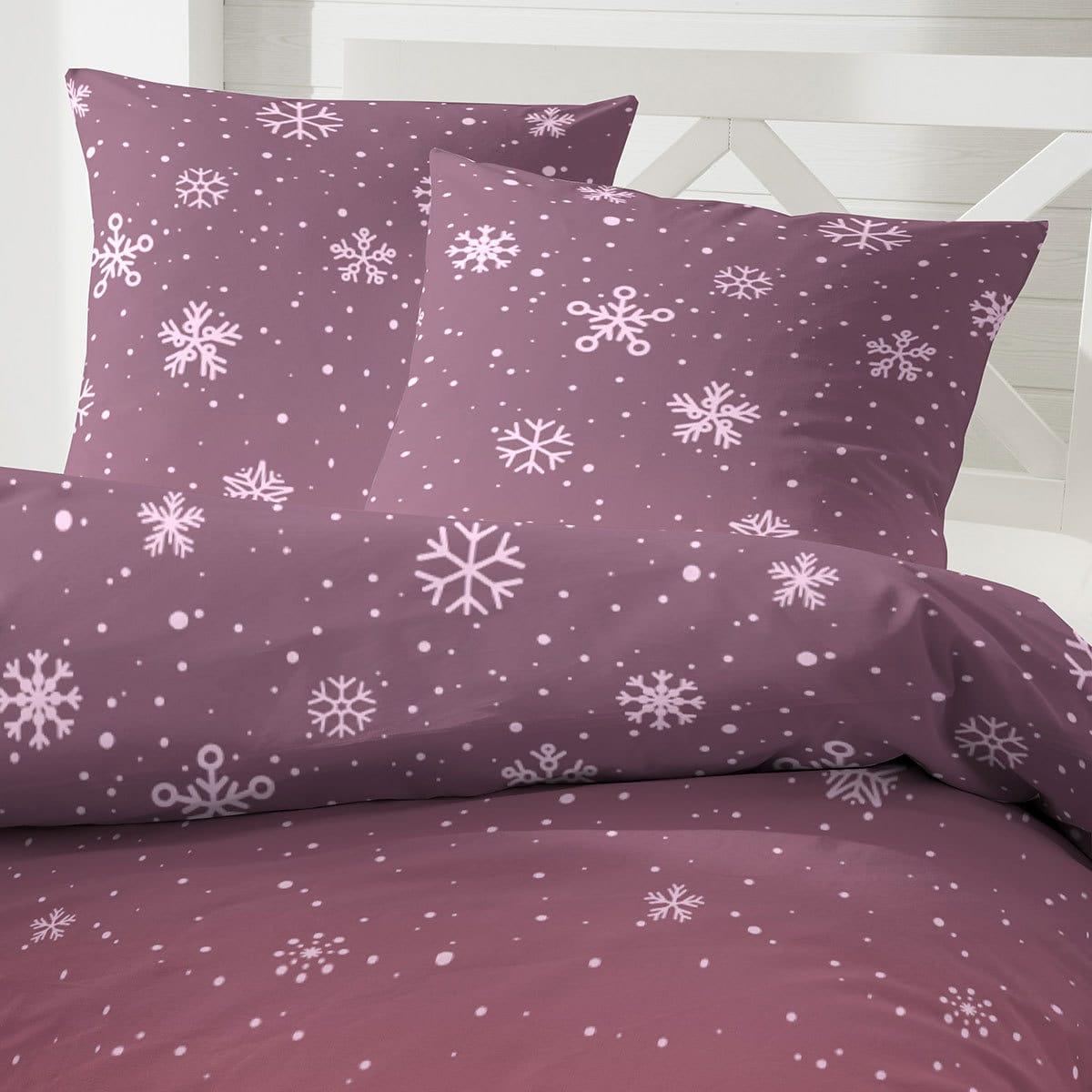 enrico coss edelflanell bettw sche snow rot g nstig online. Black Bedroom Furniture Sets. Home Design Ideas