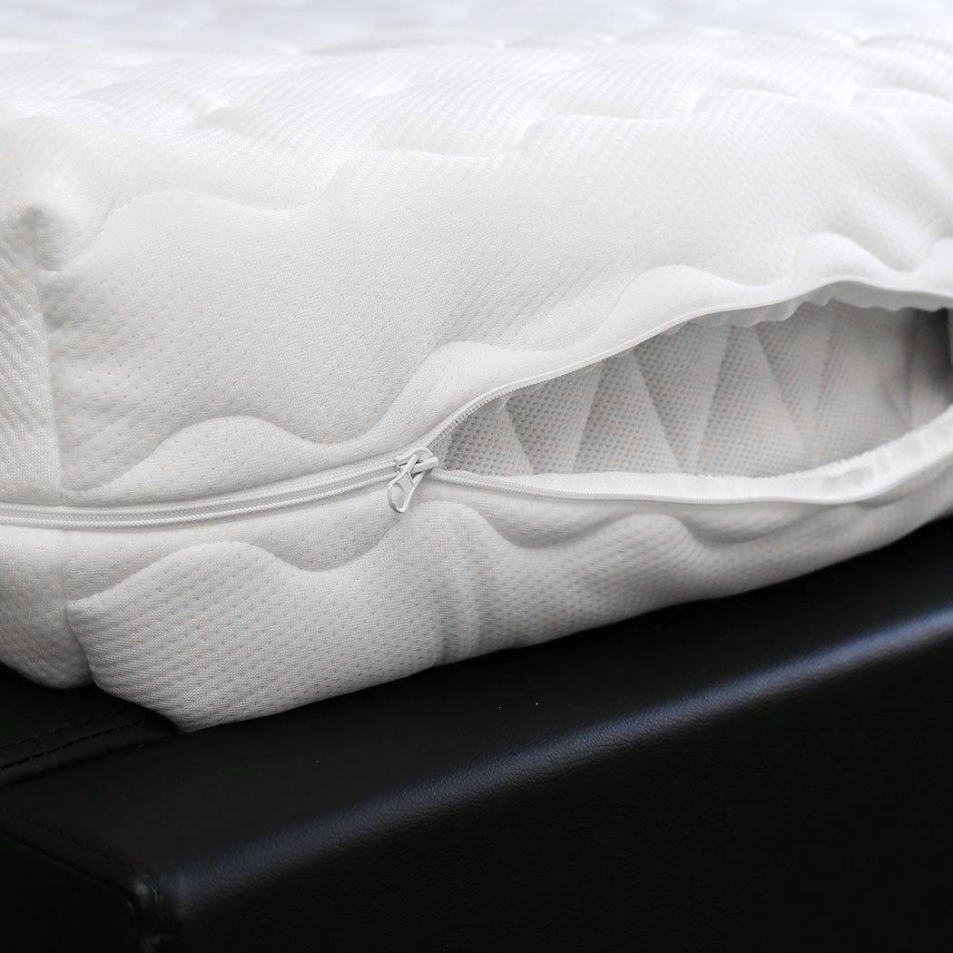 BettwarenShop Ersatz Matratzenbezug Doppeltuch
