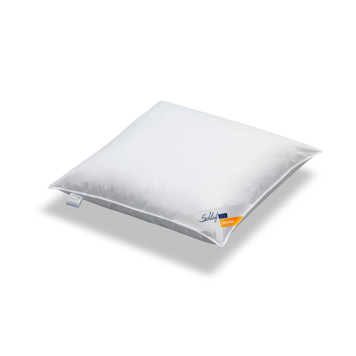 schlafstil feder kopfkissen dahliana mittel 60 federn 40 daunen g nstig online kaufen bei. Black Bedroom Furniture Sets. Home Design Ideas