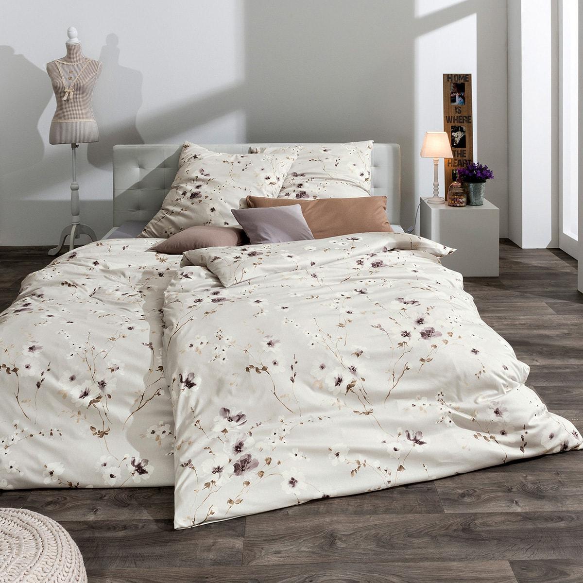estella feinflanell bettw sche paradiso leinen g nstig online kaufen bei bettwaren shop. Black Bedroom Furniture Sets. Home Design Ideas