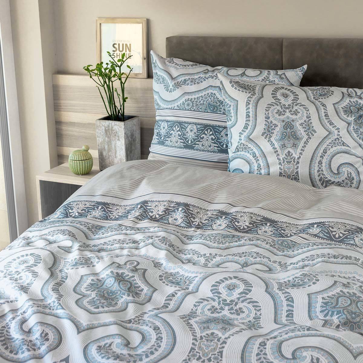 ibena feinflanell bettw sche zeitgeist 6116 630 g nstig online kaufen bei bettwaren shop. Black Bedroom Furniture Sets. Home Design Ideas
