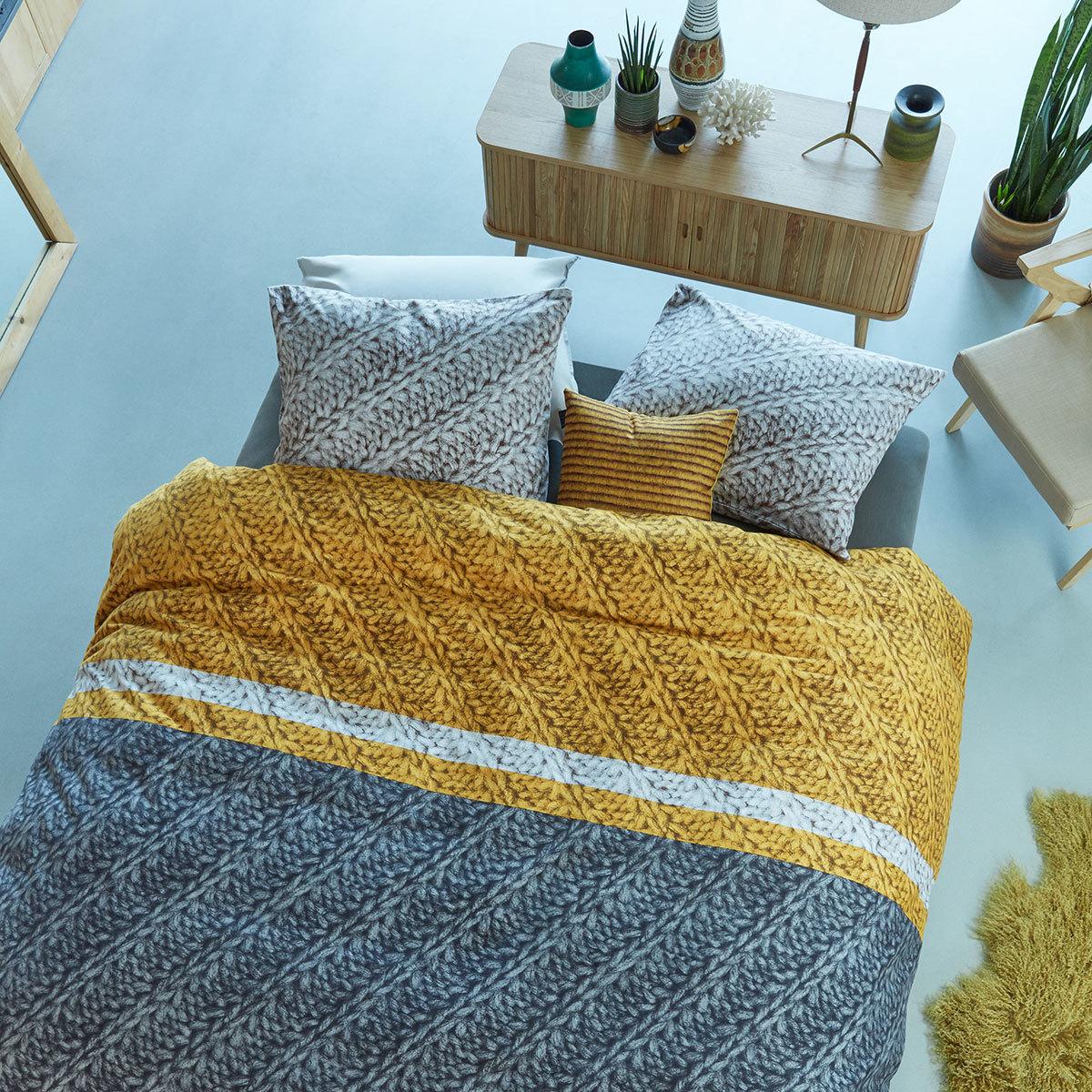 beddinghouse flanell bettw sche merino gold g nstig online kaufen bei bettwaren shop. Black Bedroom Furniture Sets. Home Design Ideas