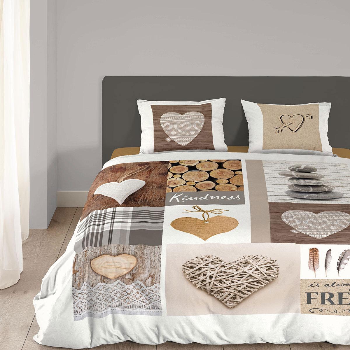 good morning flanell bettw sche nature g nstig online kaufen bei bettwaren shop. Black Bedroom Furniture Sets. Home Design Ideas