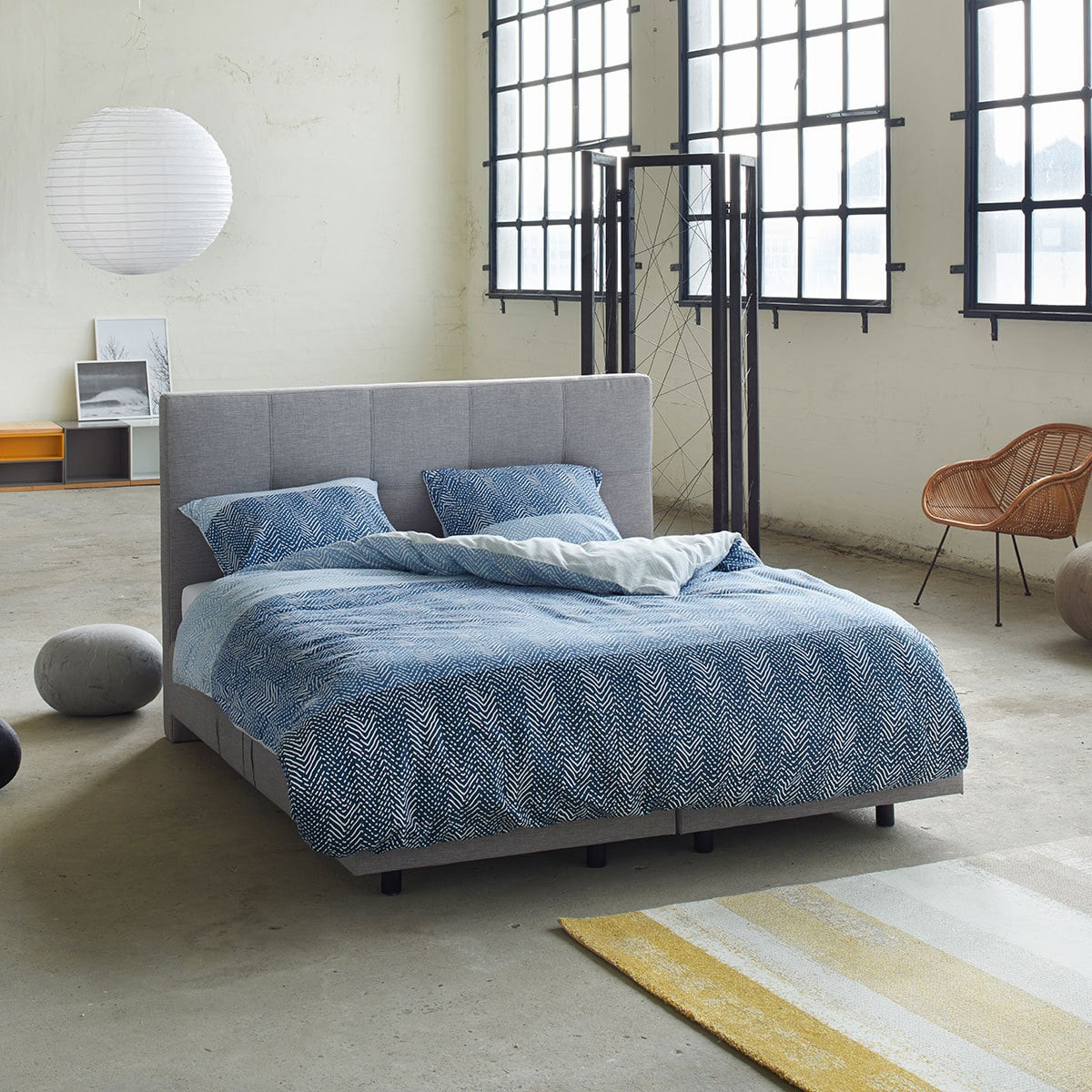 esprit flanell bettw sche tamo blue g nstig online kaufen bei bettwaren shop. Black Bedroom Furniture Sets. Home Design Ideas