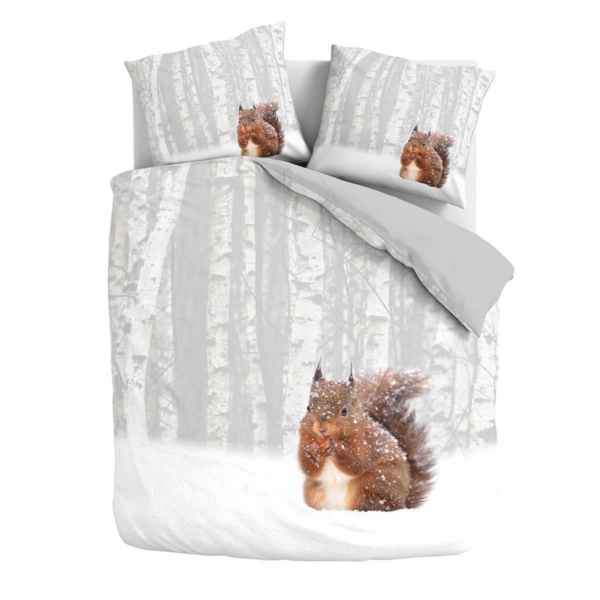 traumschlaf flanell eichh rnchen bettw sche milou g nstig online kaufen bei bettwaren shop. Black Bedroom Furniture Sets. Home Design Ideas
